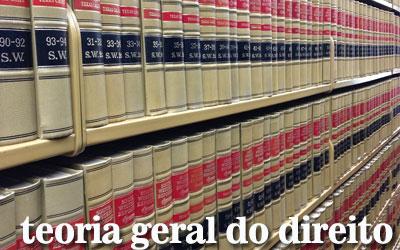 Artigos de Teoria Geral do Direito