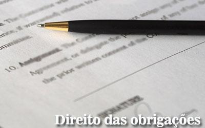 Artigos de Direito das obrigações e contratos